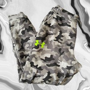 Men's Under Armour Camo Sweats (XL)